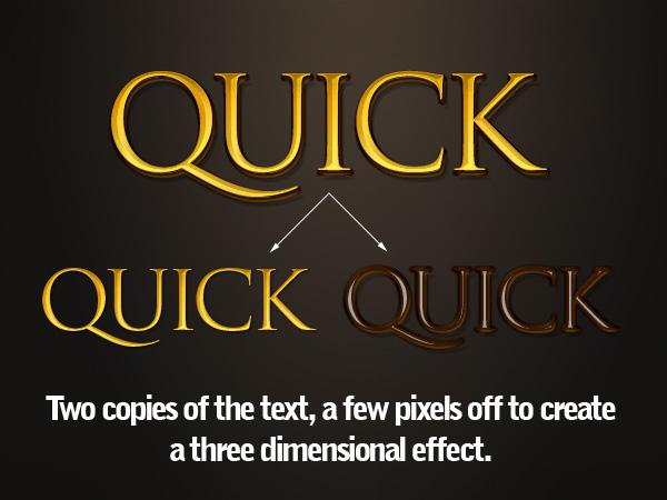 6 быстрых текстовых эффектов *