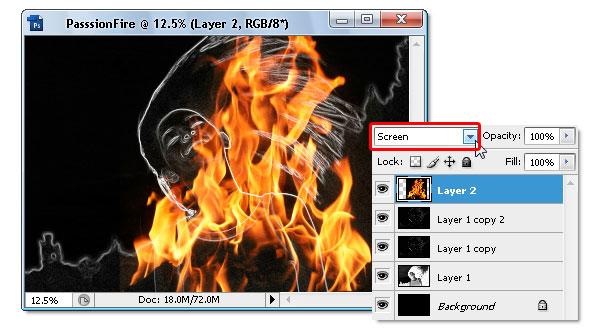 Уроки Photoshop: Пылающая девушка, Люди и Огонь, Программы для работы с графикой, Программные решения, статьи на SDTeam.com