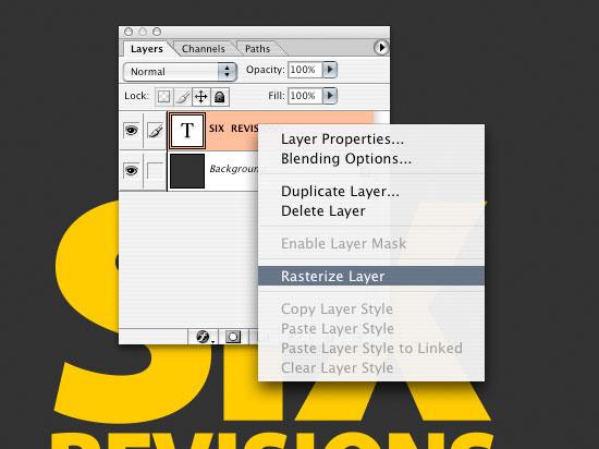 Как сделать подчеркнутый шрифт в фотошопе