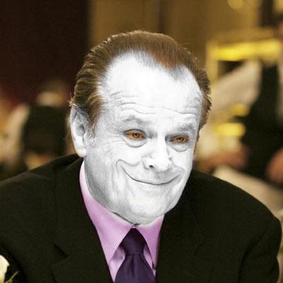 Превращаем человека в Джокера из Готем-