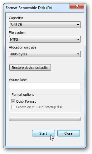 Установка Windows 7 с USB-флэшки