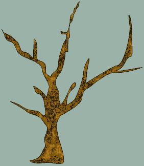 Залитое дерево