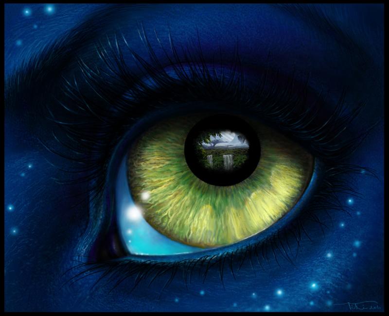 Картинка глаза нарисованные