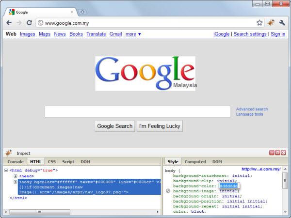 Расширения Google Chrome для дизайна и веб-разработки - Программные