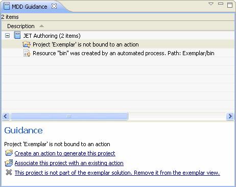 Рисунок 7. Вид экрана с закладкой MDD Guidance