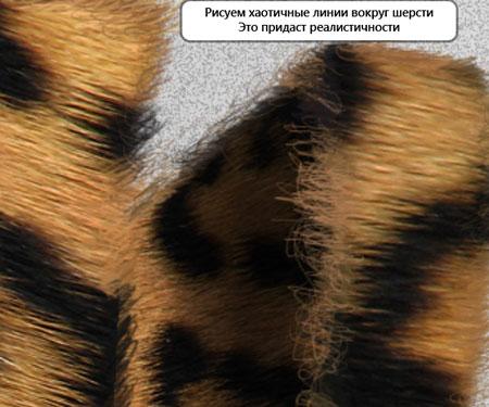кисти для фотошопа шерсть: