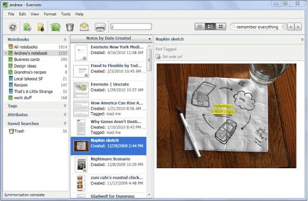 Evernote v.4.5.2 что это за программа