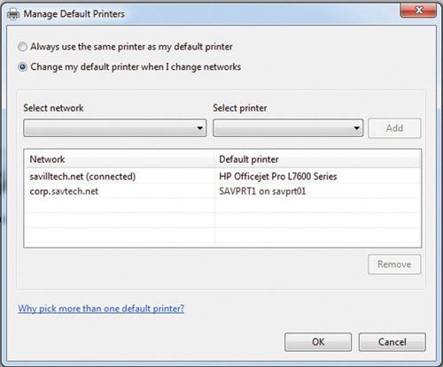 Виндовс 10 принтер по умолчанию как сделать