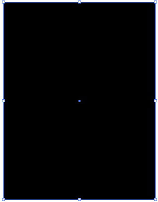рисуем черный прямоугольник