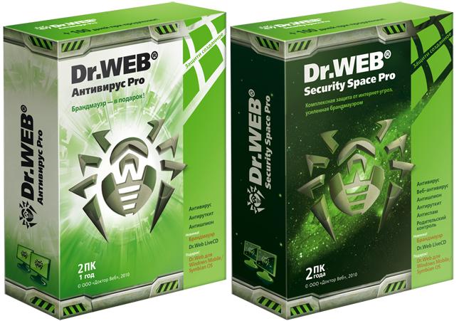Dr. Web Anti-Virus - Представляет собой сильную комбинацию