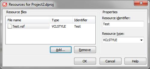 VCL Styles - скины в Delphi XE2 - Программные продукты - Статьи
