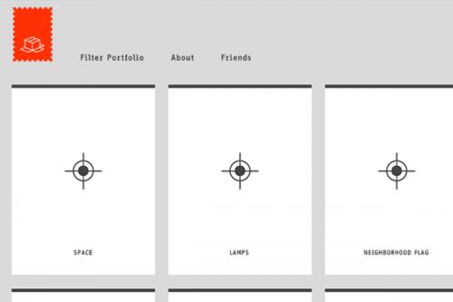 Минималистический дизайн сайта