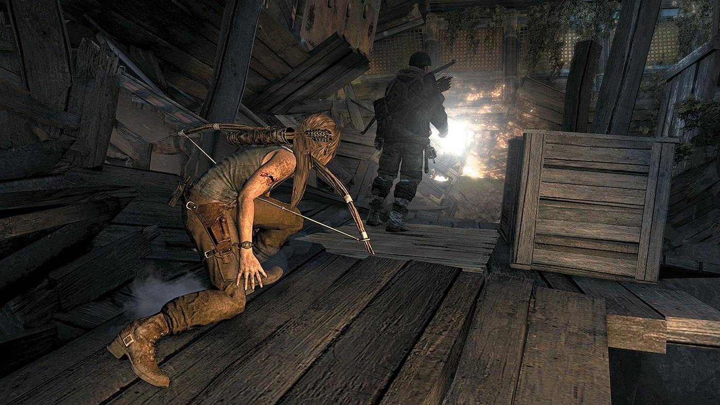 Как пройти tomb raider