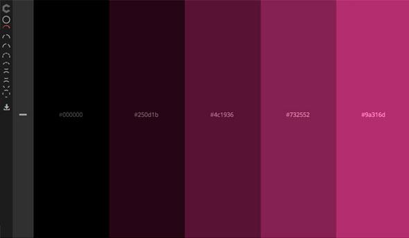 производства цветовых схем
