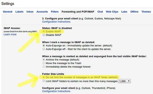 Резервное копирование и восстановление аккаунта Gmail в Linux