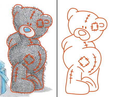 рисунки в кореле: