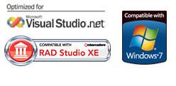 AQtime Compatibility Logos