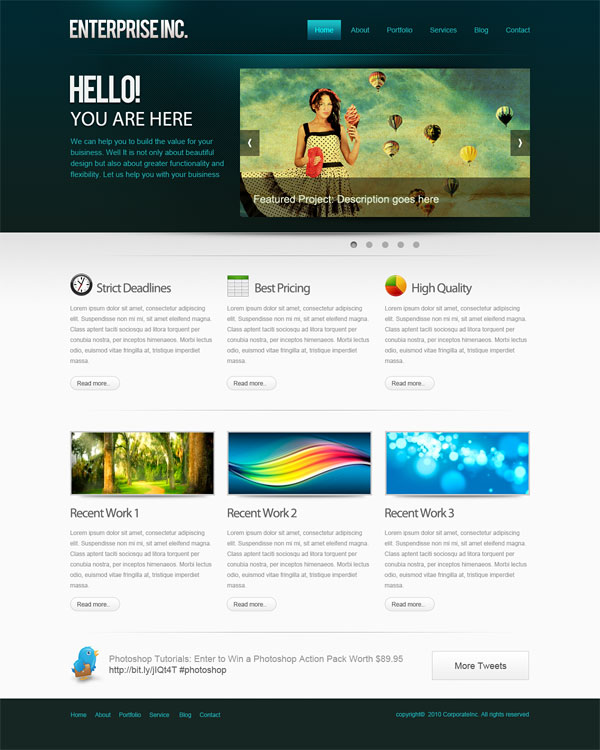 layout of websites A single membership subscription to our collection entitles access to over 200+ business website templates, 140+ corporate website templates, 2500+ xhtml website templates, 2,200+ css templates, 170+ web design website templates, and many more.