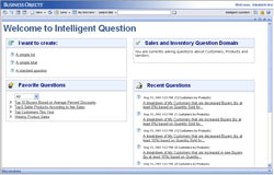 Коллекция запросов BusinessObjects Intelligent Question
