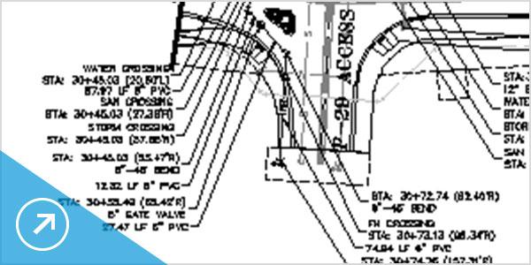 Возможности совмещения проектирования и выпуска документации повышают производительность работы в Civil 3D