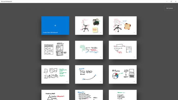 Доска Microsoft поддерживает интеллектуальный рукописный ввод, который распознает рисунки от руки