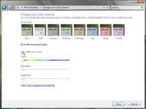 Цветовые схемы - Windows 7 - CyberForum.ru.